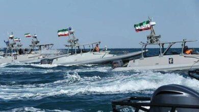 صورة بحرية الحرس الثوري: نمتلك سيطرة ورصدا تاما في منطقة الخليج