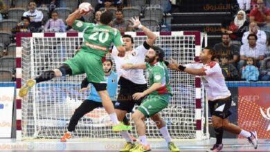 صورة بعد  روسيا..مصر تهزم بيلاروس ببطولة كرة اليد