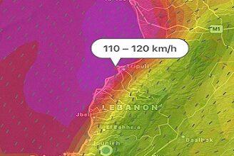 صورة هذه آخر تطورات الاحوال الجوية في لبنان والمنطقة
