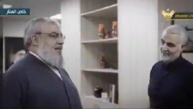 صورة بالفيديو-  اللقاء الأخير بين سليماني ونصرالله