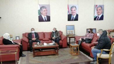 """صورة رئيس مجموعة """"أماكو"""" زار النائب الحريري والدكتور  البزري بإطار مبادرته لتوزيع مجموعة من أجهزة الأوكسجين"""