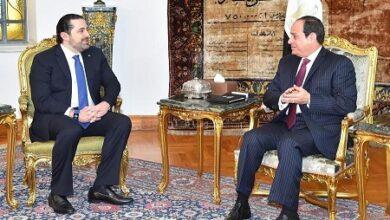 صورة الكواليس الكاملة لزيارة الحريري للقاهرة وأبوظبي