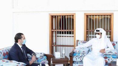 صورة ماذا في تفاصيل لقاء الحريري – أمير قطر؟