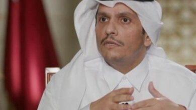 صورة وزير خارجيّة قطر في بيروت لاستكشاف فرص التقدّم بمبادرة إنقاذيّة