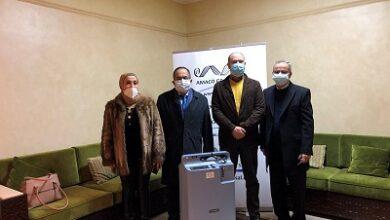 """صورة مبادرة إنسانية من رئيس مجموعة """"أماكو"""".. 50 جهاز تنفس لمنطقة الجنوب"""