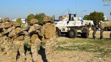 صورة الجيش يتدرّب على قتال الشوارع في الجنوب.. والهدف؟