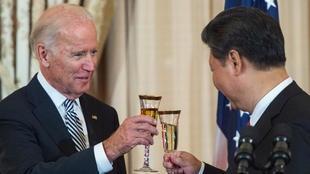 صورة أول اتصال بين بايدن والرئيس الصيني