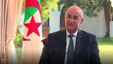 صورة تبون يستعد لحل البرلمان الجزائري خلال يومين