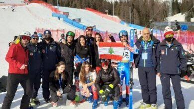 صورة نتائج لافتة لبعثة إتحاد التزلّج في إيطاليا