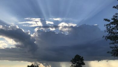 صورة الطقس سيتحول الى قليل الغيوم مع بالحرارة