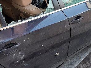 صورة مقتل مواطن في الأوزاعي بإطلاق النار على سيارته