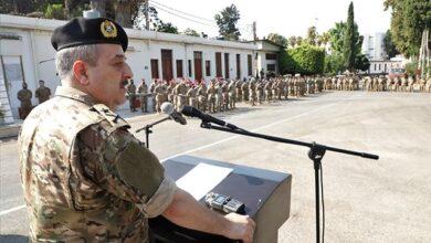 صورة العرم ناقلا توجيهات قائد الجيش: للتحلي بالمزيد من الوعي واليقظة