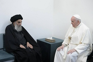 صورة قمة إسلامية – مسيحية عالمية في منزل عراقي متواضع