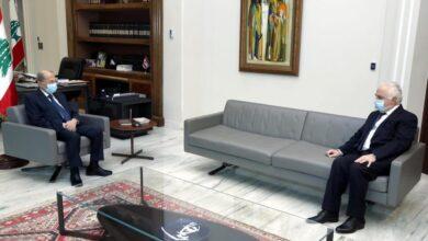صورة النائب ضاهر بحث الاوضاع الاقتصادية والمعيشية الصعبة مع الرئيس عون