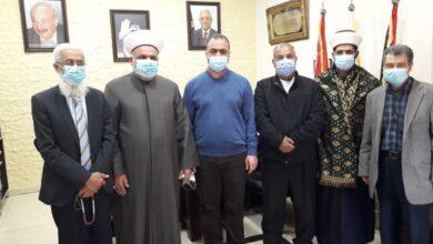 """صورة """"المشاريع"""" تتابع الوضع الصحي وتزور مستشفيي حمود والهمشري"""