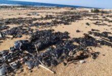 """صورة التلوث النفطي في الجنوب.. ما خفي أعظم """"وجود مادة القطران بكثافة عالية"""""""