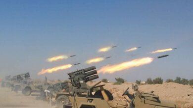 """صورة صواريخ المقاومة تهديد وجوديّ لـ""""إسرائيل"""""""