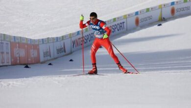 صورة إنجاز لبناني في بطولة التزلج.. التأهل الى أولمبياد الألعاب الشتوية