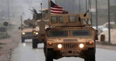 """صورة قوات أمريكية تنقل عناصر""""داعش"""" من قاعدتها في الشدادي باتجاه دير الزور"""