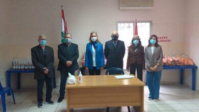 صورة جمعية دار الأمل وزعت ألعاباً على الأطفال بحضور سفيرة سويسرا في لبنان