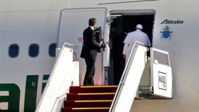صورة البابا: الكنيسة في العراق حيّة