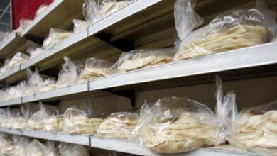 صورة سعر جديدا للخبز: 4000 في الفرن و4250 في المتجر