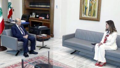 صورة عون عرض مع عبد الصمد للواقع الاعلامي