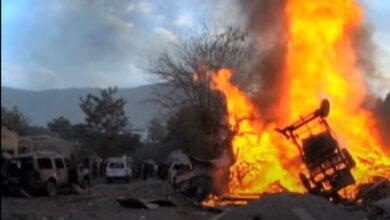 صورة مقتل 3 جنود أفغان بانفجار سيارة مفخخة بضواحي كابل
