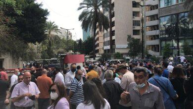 """صورة القاضية غادة عون أمام """"القضاء الأعلى"""" وسط إجراءات أمنية مشددة"""