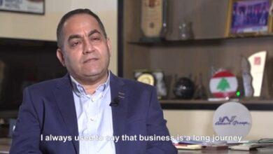 صورة بالفيديو – رئيس مجموعة أماكو يتحدث عن مساهمتهم بإعادة إعمار القسم الصناعي بمرفأ بيروت