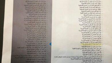 صورة اعلام رئاسة الجمهوربة: حسن محمد دقو لم يرد اسمه في مرسوم التجنيس العام 2018