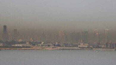 صورة غيمة ثاني اوكسيد الكبريت باقية فوق لبنان حتى هذا الموعد