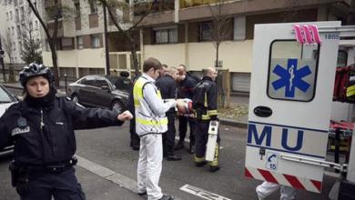 صورة مقتل المشتبه به بقتل شرطية فرنسية