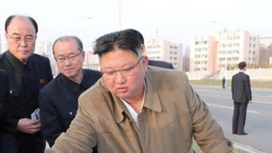 صورة كيم يستعد للقتال… الصواريخ النووية رهن إشارة منه