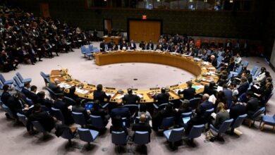 صورة شكوى من لبنان لمجلس الأمن حول الانتهاك الاسرائيلي