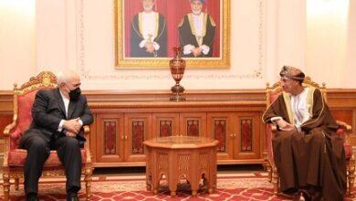 صورة ظريف: محادثات سلطنة عمان ارتكزت على تعزيز التعاون الإقليمي والدولي