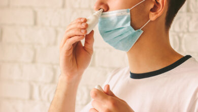 صورة براءة اختراع لقاح لعلاج كورونا على شكل قطرات للأنف
