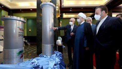 صورة طهران تؤكد إنتاج يورانيوم مخصّب بنسبة 60%