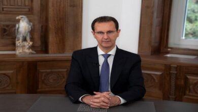 صورة الرئيس الأسد مخاطبا الشعب السوري: الرسالة للأعداء وصلت والمهمة الوطنية أنجزت