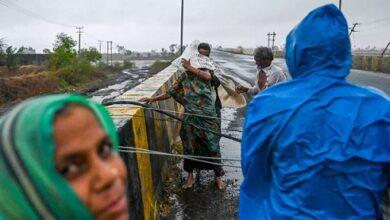 صورة 21 قتيلا و96 مفقودا في إعصار ضرب الهند