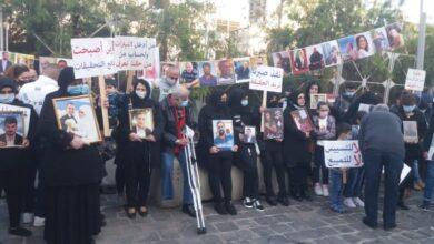 صورة اهالي شهداء تفجير مرفأ بيروت يدعون الى مشاركتهم يوم المطالبة بالحقيقة والعدالة
