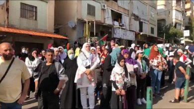 """صورة """"المشاريع"""" تواصل لقاءات التضامن مع فلسطين وتدعو إلى الوحدة في زمن التحديات والمؤامرات."""