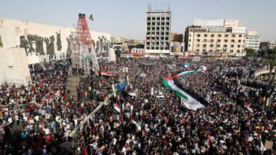 صورة تظاهرات بالملايين في استفتاء عربيّ وعالميّ لفلسطين