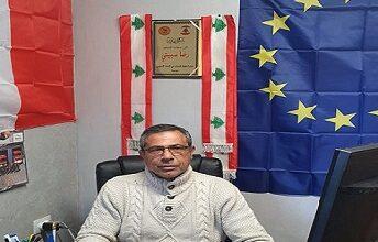 صورة السفير سبيتي دان الجرائم والمجازر التي ترتكب بحق الشعب الفلسطيني
