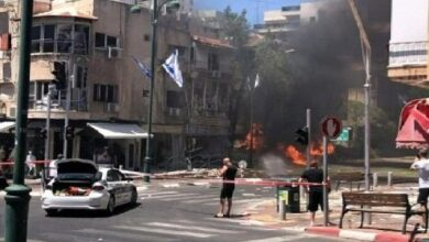 صورة يديعوت احرونوت:61 مليون دولار خسائر إسرائيل جراء صواريخ غزة