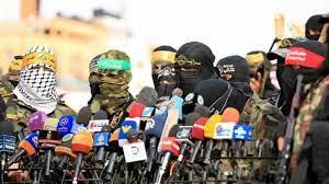 """صورة الفصائل الفلسطينية  تحذر """"إسرائيل"""" عبر مصر"""