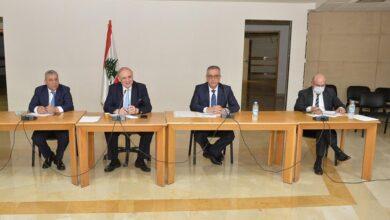 صورة لجنة الاقتصاد برئاسة البستاني ناقشت ملف الإسمنت وموضوع السكانر
