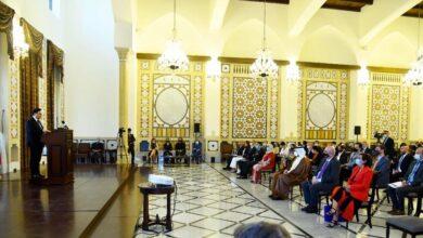 صورة دياب لوفد من أهالي شهداء المرفأ: غضبكم مفهوم ومشروع