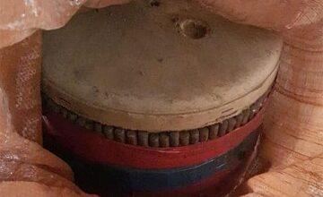صورة بالصور- مواد مُوضبة غير مُعدّة للتفجير في برج حمود