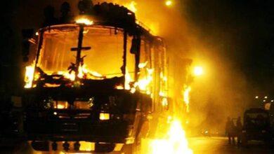 صورة مقتل 10 أشخاص بينهم 6 صينيين بانفجار حافلة بباكستان